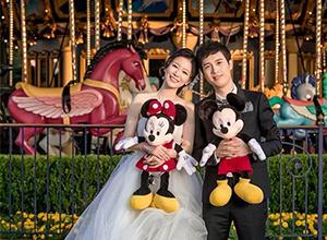 上海迪士尼乐土,正式推出白天婚纱摄影效劳