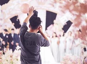 518世界婚礼日,来看看摄影师咱咱们都是怎么工作的