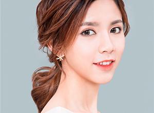 清新柔美的简约韩式新娘