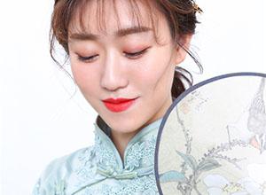精致國風旗袍造型設計
