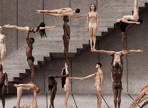 最新影楼资讯新闻-美国时尚摄影师与舞蹈演员合作 创造出震撼画面!