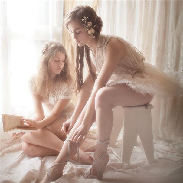温婉柔美的人像摄影 慵懒柔和的少女情绪