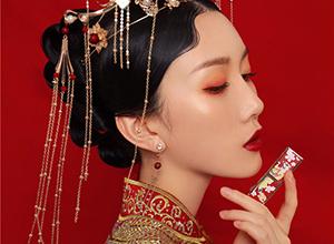 锦绣红妆 可搭配多变造型的中式新娘妆面