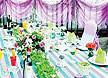 最新影楼资讯新闻-缤纷般花园婚宴