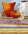 最新影楼资讯新闻-绚丽条纹家具让影楼空间充满活力