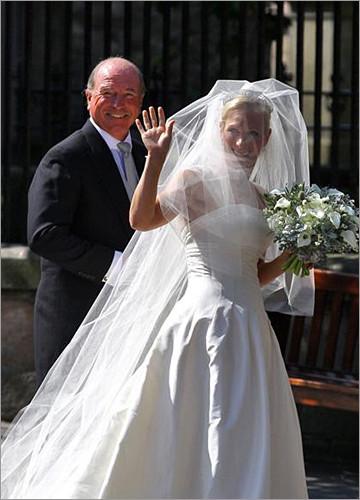 扎拉公主 扎拉公主低调完婚 英国王室的第二场婚礼