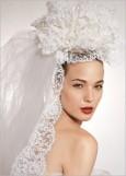 最新影楼资讯新闻-完美新娘的头纱佩戴方案