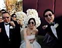 最新影楼资讯新闻-亚裔新人创意婚礼派对 时尚明星MVhold住全场