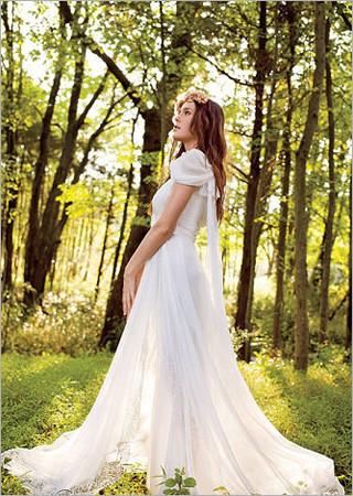 最新影楼资讯新闻-户外婚礼设计 不同风格婚纱的浪漫花嫁