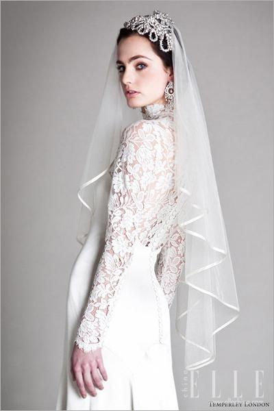 最新影楼资讯新闻-完美复古婚纱 不变时尚的华丽年代秀