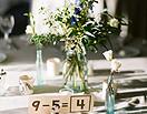 最新影樓資訊新聞-婚禮上的創意桌飾 凝視的賞心風景