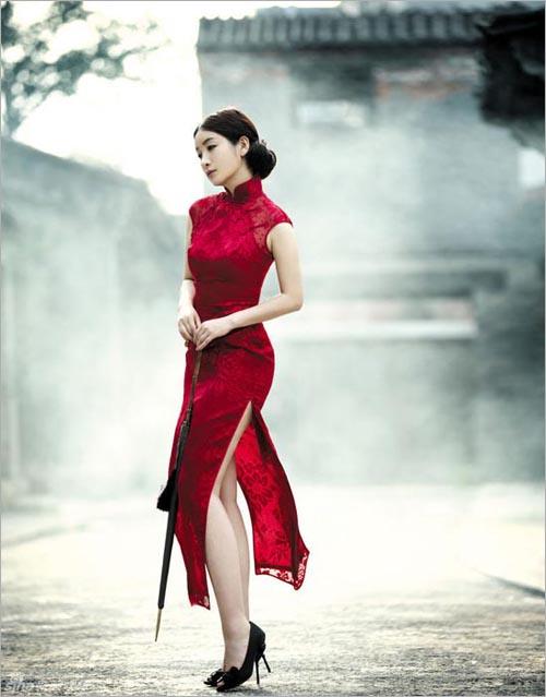 时尚国风旗袍 将传统婚礼进行到底 新娘礼服