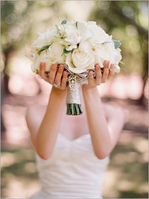 新娘手捧花的5种常见花材 婚礼策划