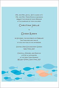 创意海滩主题婚礼请柬 展示婚礼的第一扇窗 婚礼策划