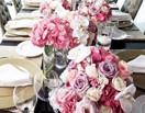 粉色复古婚礼 徜徉在幸福浪漫中