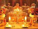 浪漫的烛光婚礼策划细节