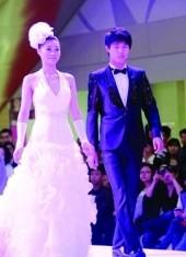 最新影楼资讯新闻-苏州婚纱城举行流行婚纱发布会