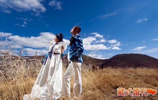 最新影楼资讯新闻-藏式婚礼火爆 香格里拉户外婚礼成新型婚庆主流