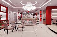 最新影楼资讯新闻-广州红苹果影楼装修 强烈反差中的和谐之美