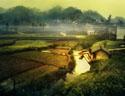 最新影楼资讯新闻-Photoshop把田园风景转为唯美的油画教程