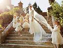 风清云淡之秀美的超模现实版英式城堡婚礼