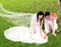 最新影楼乐虎娱乐平台新闻-利用通道及抽出滤镜抠出飘逸的半透明婚纱