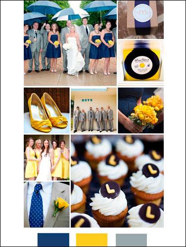 7种经典婚礼配色方案