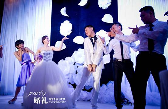 婚庆策划出现的三大流行趋势