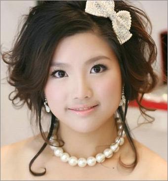 日系甜美新娘妆 演绎甜美可爱