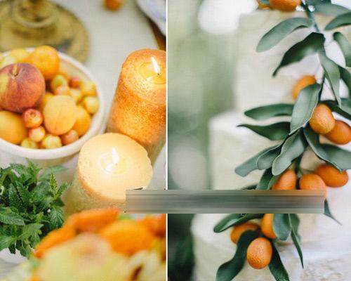 橙色主题婚礼策划