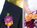 橙色主题婚礼策划,百变不离靓丽明媚色彩