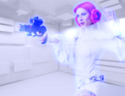 最新影楼资讯新闻-Photoshop制作美女全息影像科幻教程