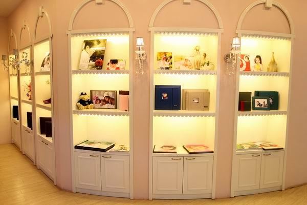 西瓜庄园儿童摄影门店装修设计展示