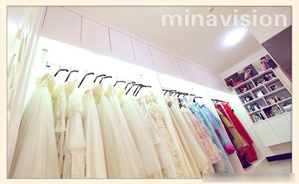 米娜视觉婚纱摄影 米娜视觉婚纱摄影,充满灵性活力的影楼装修
