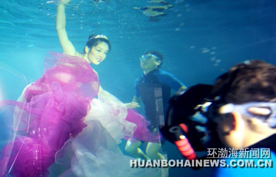 惊蛰水下摄影 唐山水下摄影基地运营揭秘:不会水一样能拍