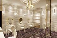 长沙温莎尊荣婚纱摄影 金碧辉煌的宫殿式装修设计