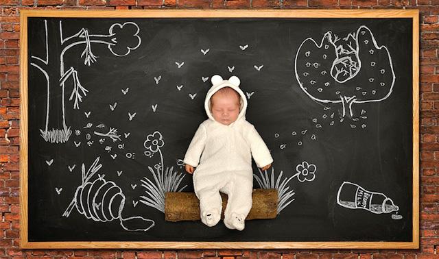 最新影楼资讯新闻-人生首份礼物 Anna Eftimie的创意婴儿摄影