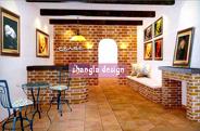 影楼装修设计:3D效果图设计实例多图展示