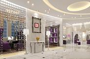 最新影楼资讯新闻-索菲亚国际婚纱摄影 魅惑紫色妖娆点缀的装修设计