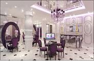 最新影楼资讯新闻-皇室经典婚纱摄影 具有神秘紫罗兰气息的装修设计