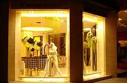 乐山店-婚纱影楼外观 温馨舒适的装修设计