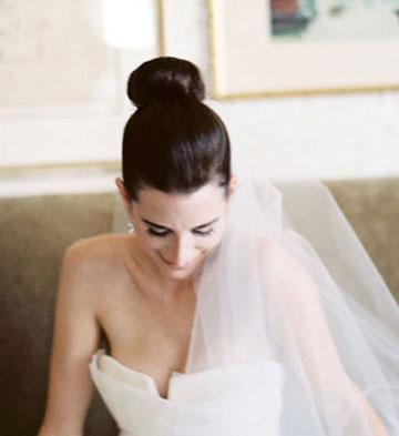 各种新娘发型与头纱绝美搭配 复古风格or浪漫主义图片