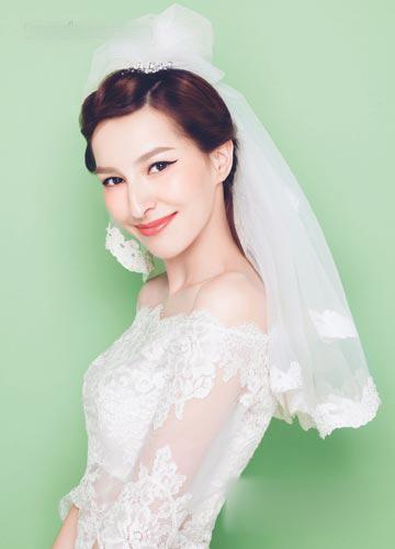 清新乖巧新娘发型 成校园流行范本图片