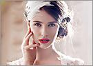 最新影楼资讯新闻-2013红唇当道 不同的红色搭配不同的新娘发型