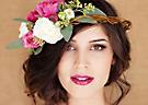 最新影楼资讯新闻-森系新娘唯美花环 徜徉在五彩缤纷的世界里