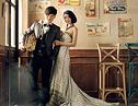 最新影楼资讯新闻-韩式情歌·影楼实景婚纱样片欣赏