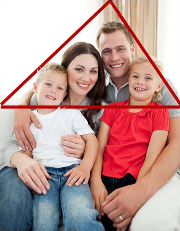 三角构图法