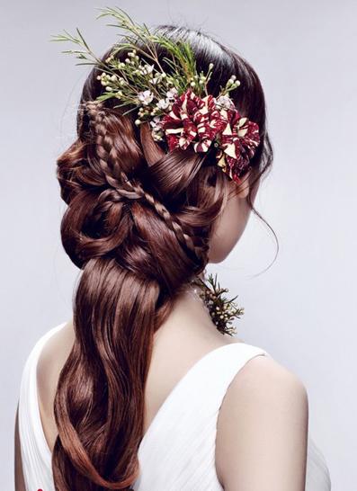 2014新娘造型流行趋势演绎你的公主梦想