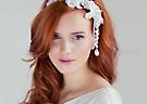 最新影楼资讯新闻-户外婚礼造型 仙美头饰打造精灵新娘