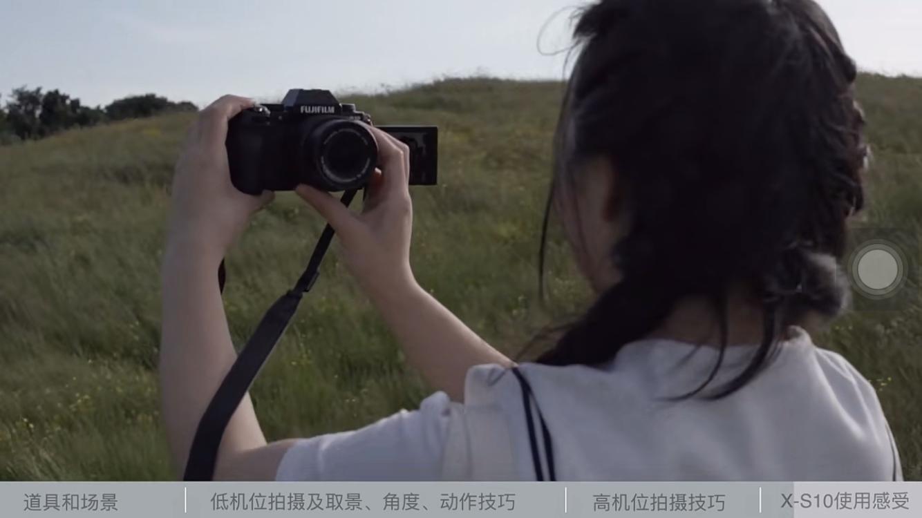 富士X-S10 简简单单拍好JK军服写真